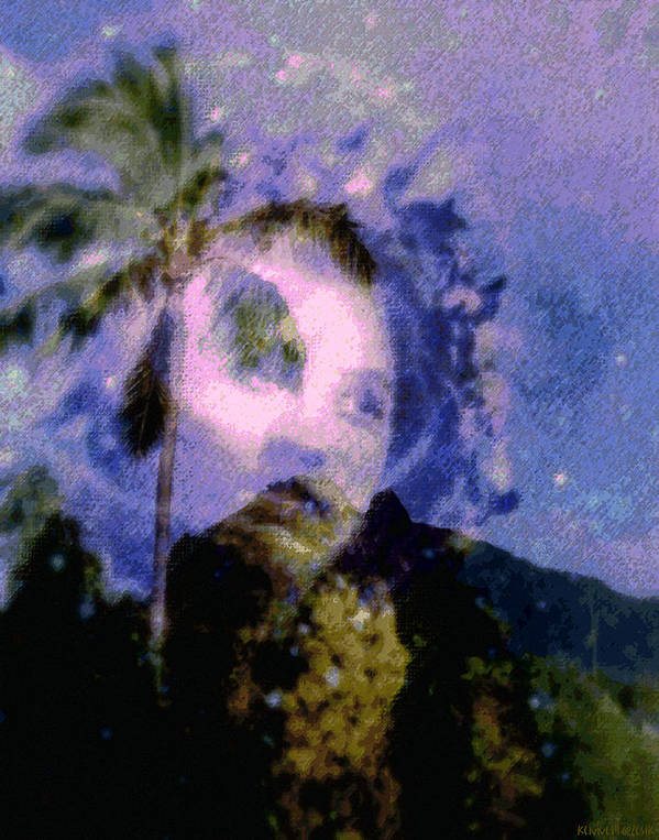 Tropical Interior Design Art Print featuring the photograph Kaei Manehu Uila by Kenneth Grzesik