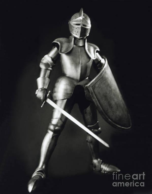 Knight Art Print featuring the photograph Knight by Tony Cordoza