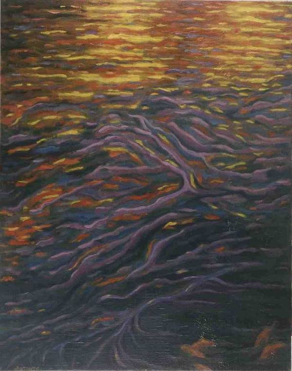 Water Art Print featuring the painting Memory by Helen O Hara