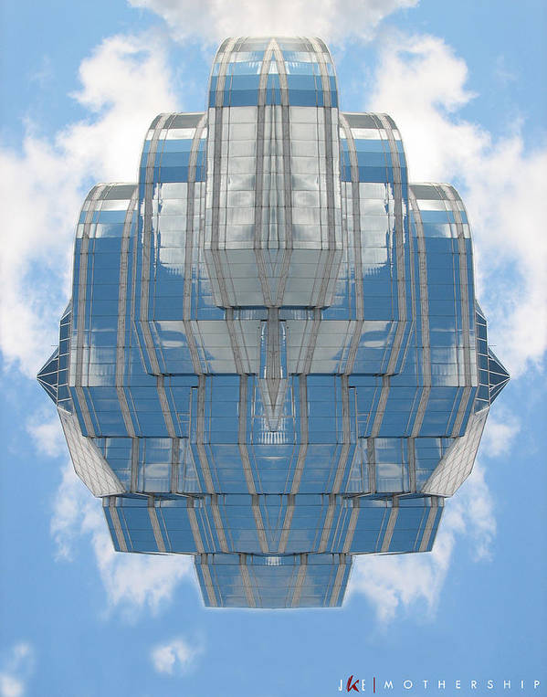 Sky Art Print featuring the photograph Mothership by Jonathan Ellis Keys