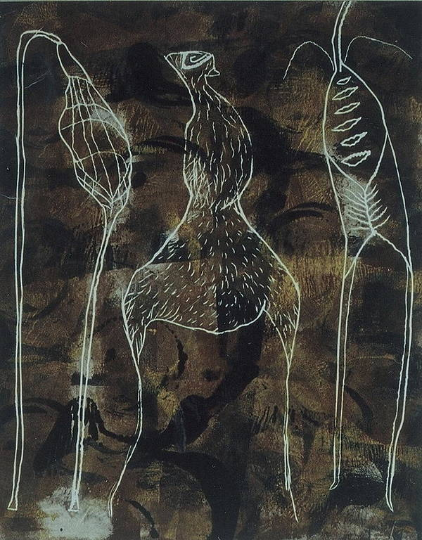 Organic Art Print featuring the print Mutation 3 by Angela Dickerson