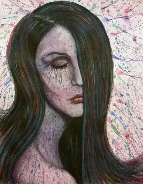 Emotions Art Print featuring the painting Overwhelming Love by Justin Boysko