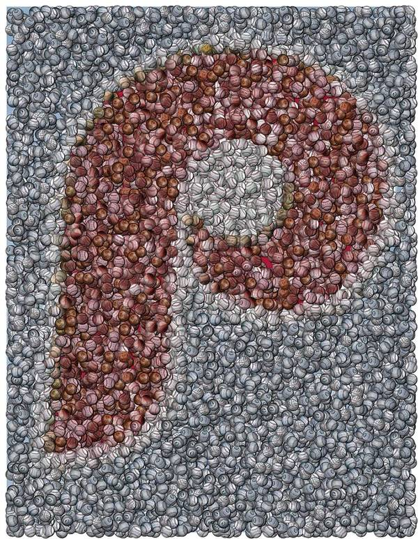 Mlb Art Print featuring the mixed media Philidelphia Phillies Baseballs Mosaic by Paul Van Scott