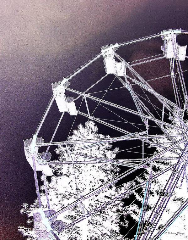 Ferris-wheel Art Print featuring the photograph Recurring Dreams by Susan Kinney