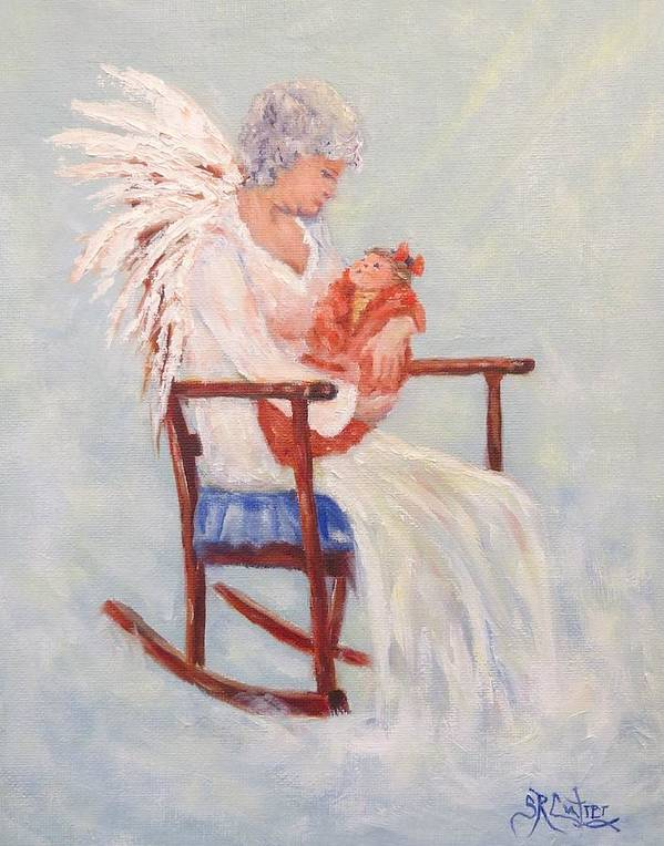 Baby Angel Art Painting