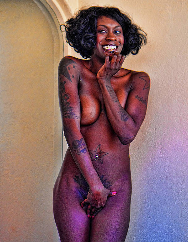 Nude Art Print featuring the photograph Shy by Joel Gilgoff