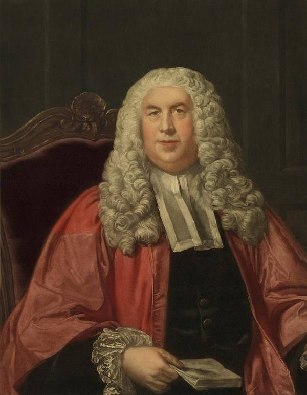 History Art Print featuring the photograph Sir William Blackstone 1723-1780 by Everett