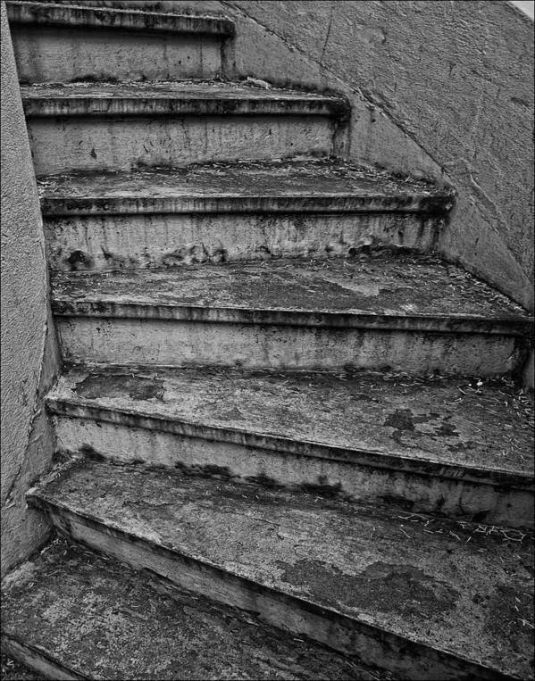 Stairs Art Print featuring the photograph Stairs by Robert Ullmann