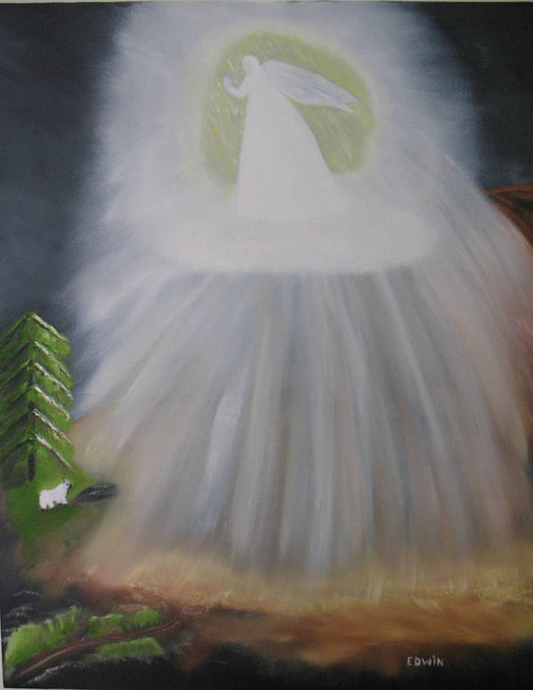 Angels Art Print featuring the painting The Lost Sheep by Edwin Long