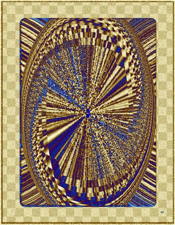 Treasure Trove Art Print featuring the digital art Treasure Trove Beyond by Will Borden