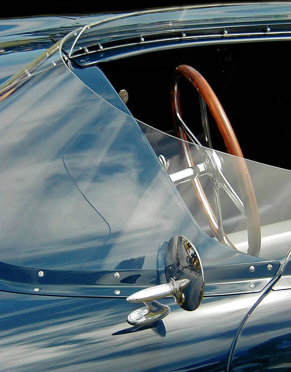 Racing Cockpit Art Print featuring the photograph Wrap Around by Alan Olmstead