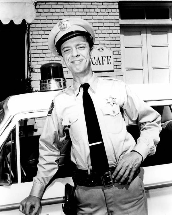 The Andy Griffith Show Art Print featuring the photograph Don Knotts In The Andy Griffith Show by Silver Screen