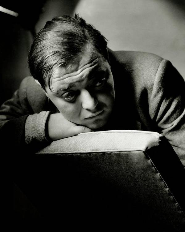 Actor Art Print featuring the photograph Portrait Of Actor Peter Lorre 1 by Anton Bruehl