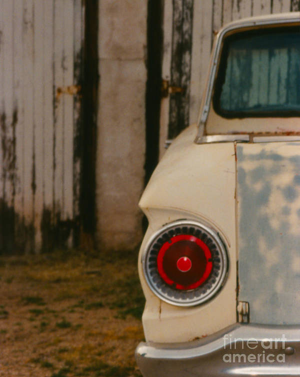 Car Art Print featuring the photograph Rusty Car by Heather Kirk