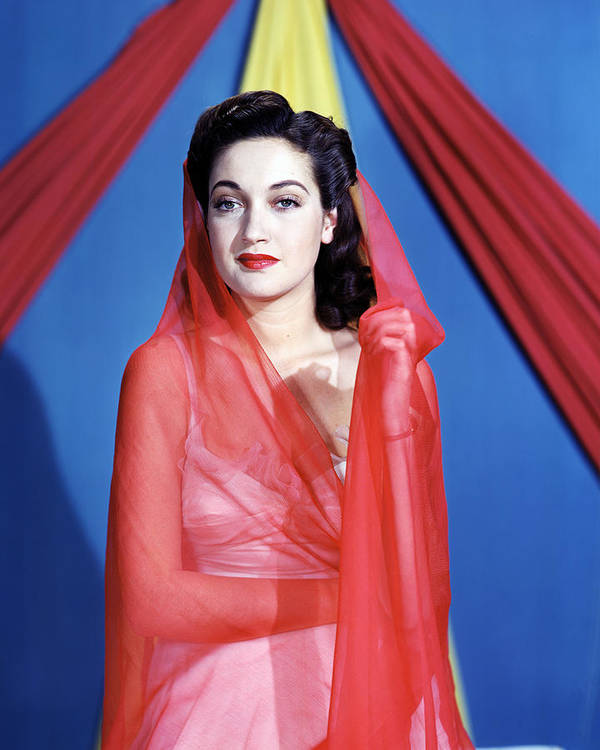 Dorothy Lamour Art Print featuring the photograph Dorothy Lamour by Silver Screen