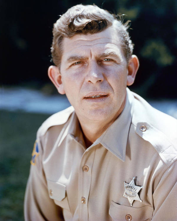The Andy Griffith Show Art Print featuring the photograph Andy Griffith In The Andy Griffith Show by Silver Screen