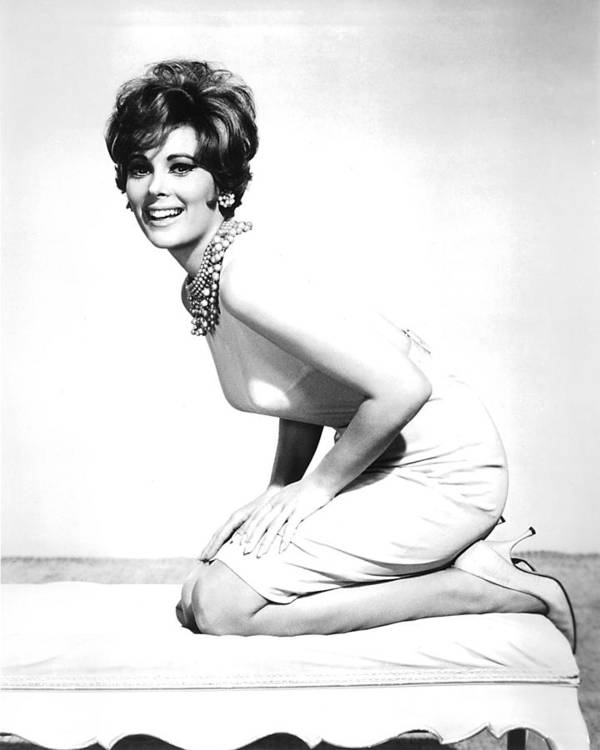 Jill St. John Art Print featuring the photograph Jill St. John by Silver Screen