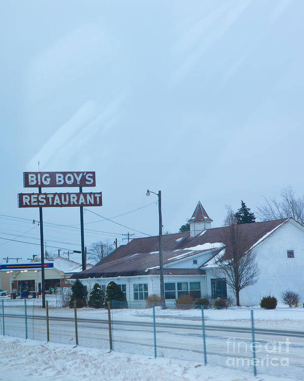 Big Boy's Restaurant Print featuring the photograph Big Boy's by Kay Pickens