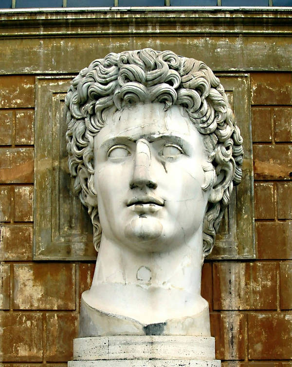 Caesar Augustus Art Print featuring the photograph Caesar Augustus by Ellen Henneke