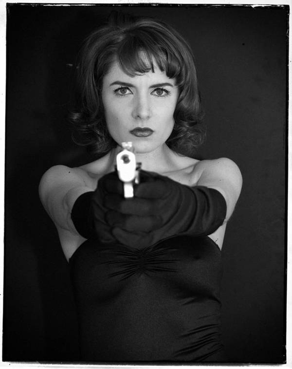 Woman Art Print featuring the photograph Dangerous Woman I by Jim Poulos