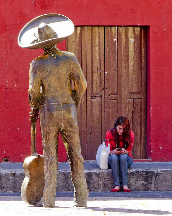 Mexico Art Print featuring the photograph Frozen In Time by Douglas J Fisher
