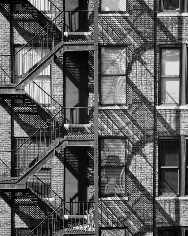 Architecture Art Print featuring the photograph Great Escapes II by Rose Fleming
