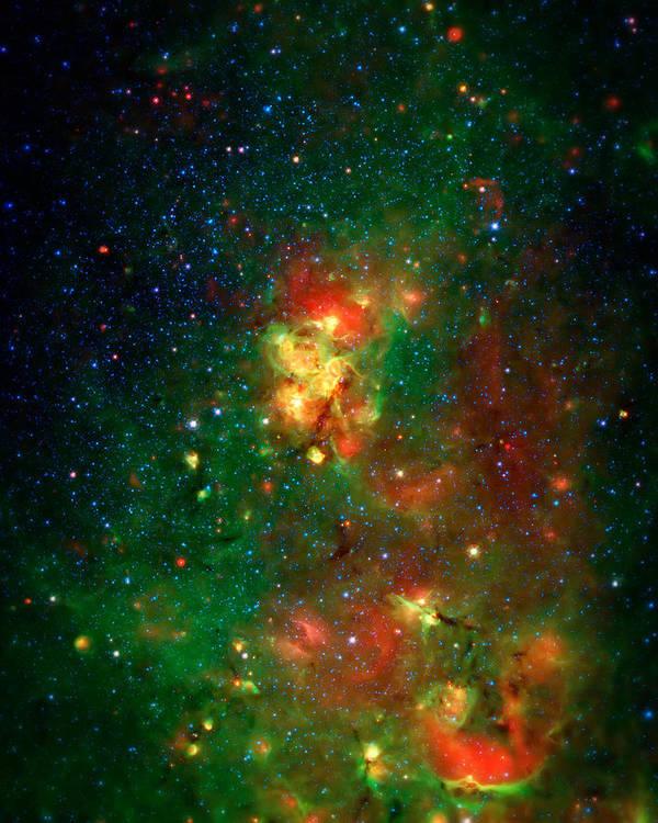 Universe Art Print featuring the photograph Hidden Nebula 2 by Jennifer Rondinelli Reilly - Fine Art Photography