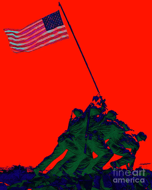 Iwo Jima Print featuring the photograph Iwo Jima 20130210p65 by Wingsdomain Art and Photography