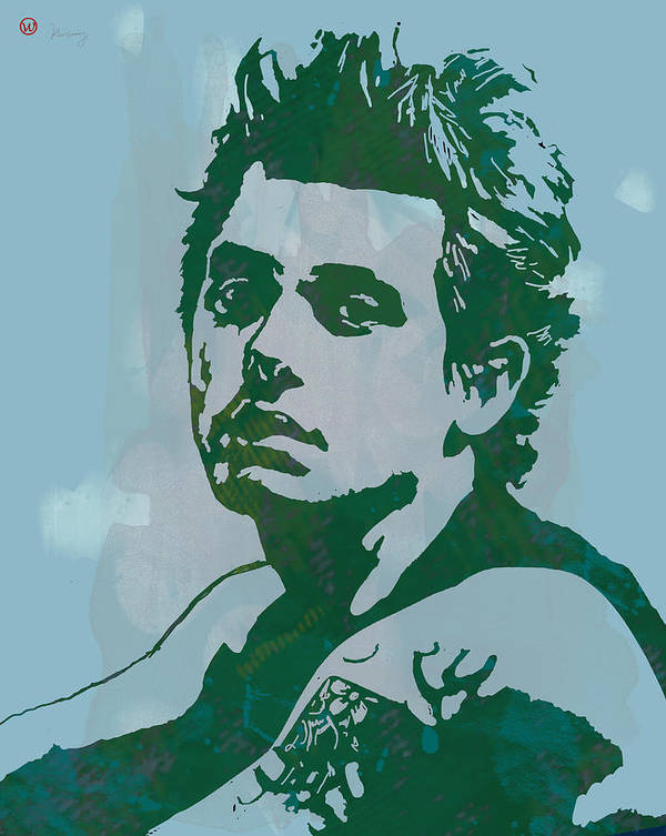 John Clayton Mayer Is An American Singer-songwriter And Producer. He Was Born In Bridgeport Art Print featuring the drawing John Mayer - Pop Stylised Art Sketch Poster by Kim Wang