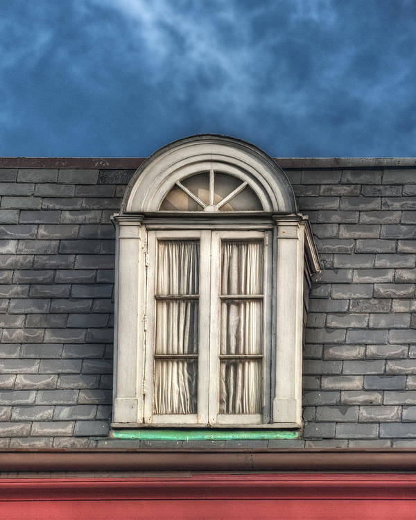 Window Art Print featuring the photograph New Orleans Window by Brenda Bryant
