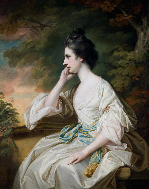 Portrait Art Print featuring the painting Portrait Of Miss Anne Dutton by Francis Cotes