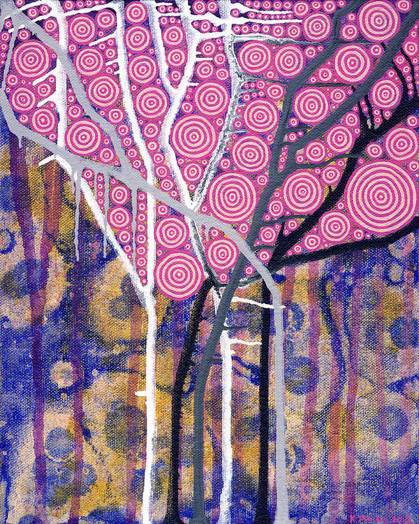Art Art Print featuring the painting Seasons #2 by Kelly Pound