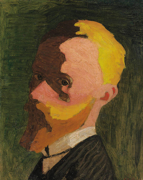 Self Portrait Print featuring the painting Self Portrait by Edouard Vuillard