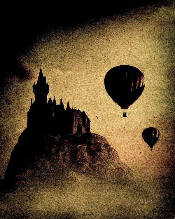 Castle Art Print featuring the photograph Silent Journey by Bob Orsillo