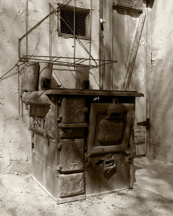Stove Art Print featuring the photograph The Old Stewart by Timothy Bulone