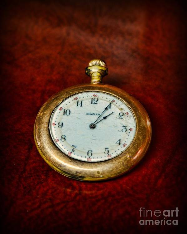 Paul Ward Art Print featuring the photograph The Pocket Watch by Paul Ward