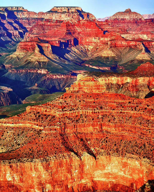 Grand Canyon National Park Art Print featuring the photograph Grand Canyon National Park by James Bethanis