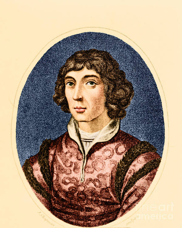 History Art Print featuring the photograph Nicolaus Copernicus, Polish Astronomer by Science Source