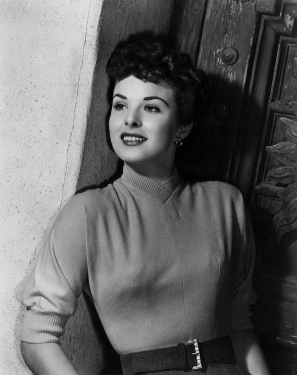 1950s Portraits Art Print featuring the photograph A Man Called Peter, Jean Peters, 1955 by Everett