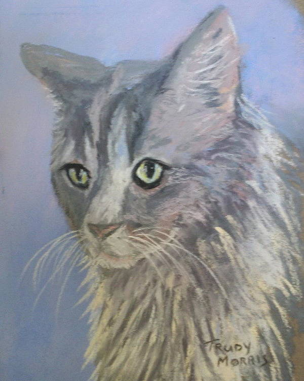 Pet Art Print featuring the painting Big Boy by Trudy Morris