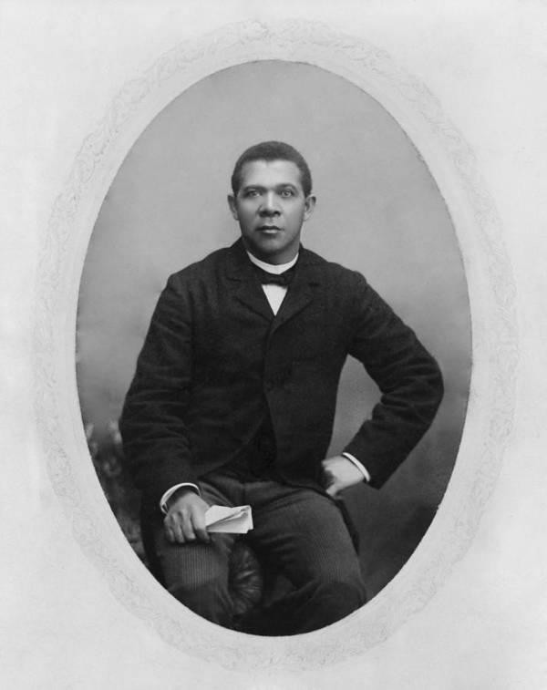 History Art Print featuring the photograph Booker T. Washington 1856-1915, Ca by Everett
