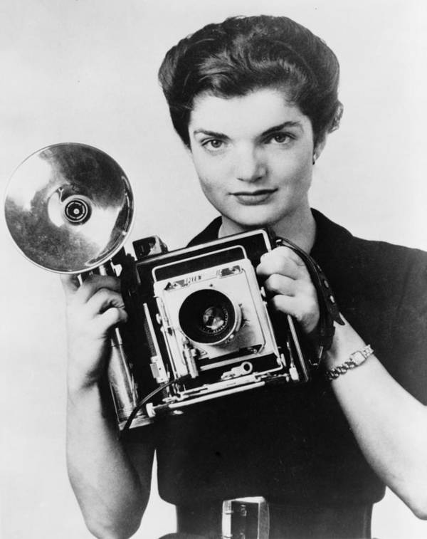 1950s Art Print featuring the photograph Jacqueline Bouvier As The Inquiring by Everett