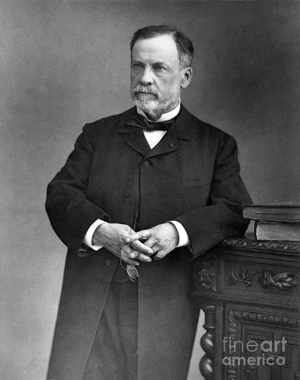 Medicine Art Print featuring the photograph Louis Pasteur, French Chemist by Omikron
