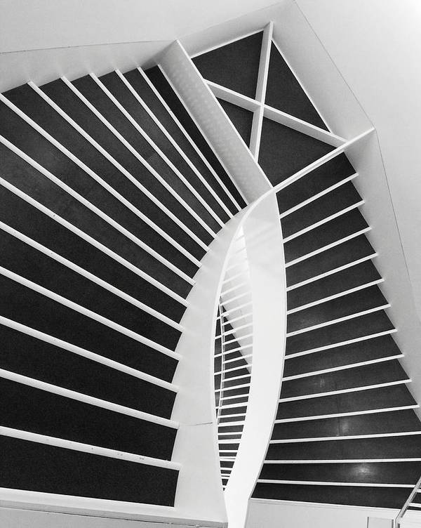 Stairs Art Print featuring the photograph Meet Me Under The Stairs by Anna Villarreal Garbis