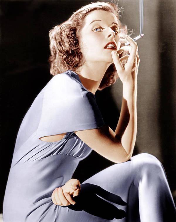 1930s Portraits Art Print featuring the photograph Katharine Hepburn, Ca. 1930s by Everett