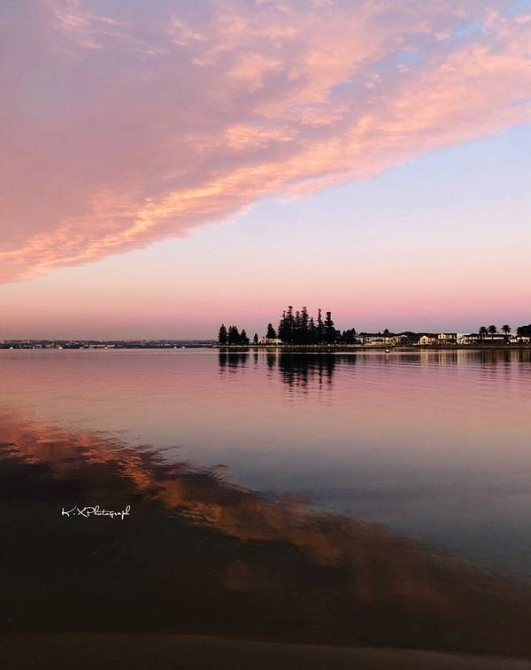 Calm Art Print featuring the photograph Peaceful Morning by Koula Xexenis