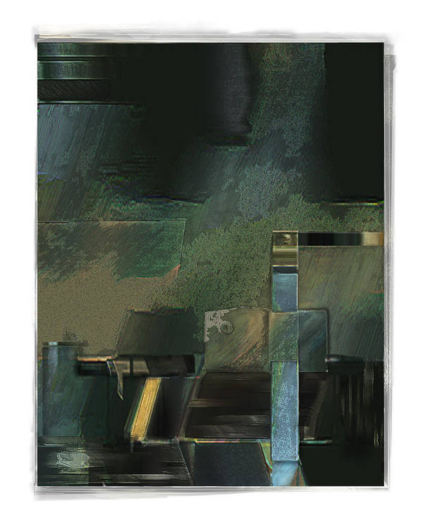 Still Life Art Print featuring the digital art Pump by Nuff