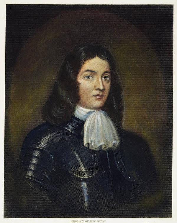 1666 Print featuring the photograph William Penn (1644-1718) by Granger