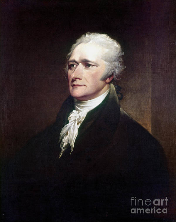 1806 Art Print featuring the photograph Alexander Hamilton by Granger
