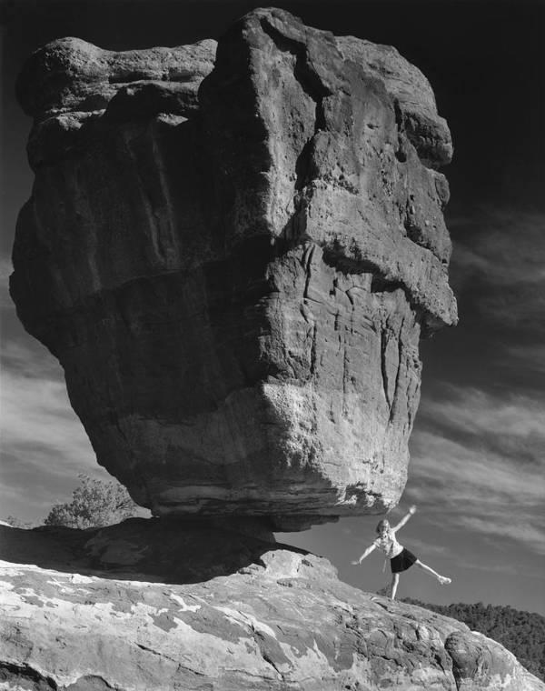 Nature Art Print featuring the photograph Balance by Jim Furrer